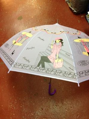 Girls pattern umbrella